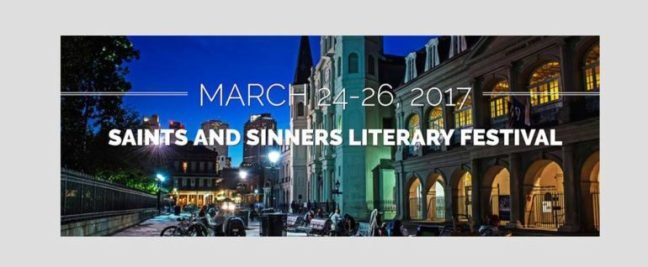 saints and sinners literary festival