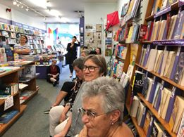 Reading at Women's Bookshop
